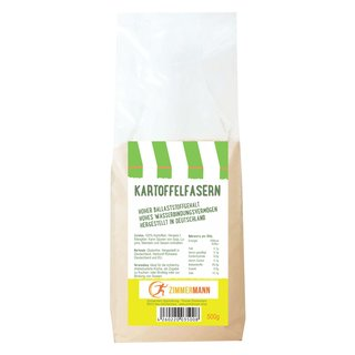 Potato fiber 500g - made in Germany - made from 100% potatoes - conventional from Zimmermann Sportnahrung